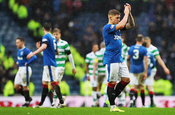 Rangers have lost all three Old Firm derby matches so far this season