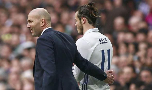 Real Madrid Gareth Bale Cristiano Ronaldo