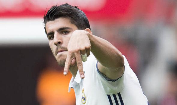 Real Madrid News Alvaro Morata Man Utd Chelsea Transfer News