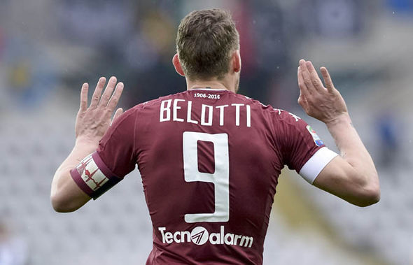 Belotti at Torino