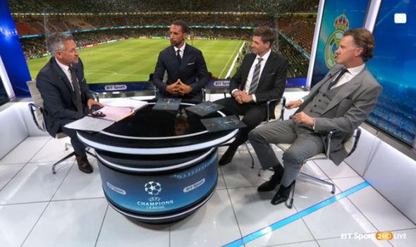 Rio Ferdinand Steven Gerrard Steve McManaman