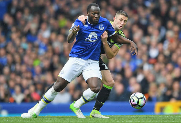 Romelu Lukaku at Everton