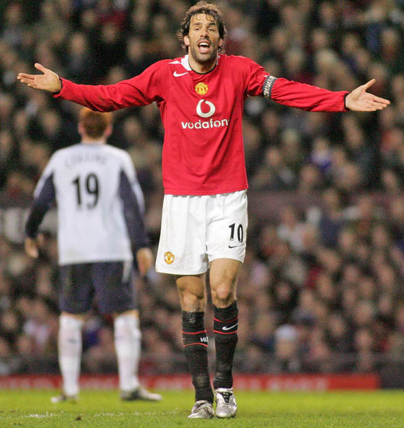 Ruud van Nistelrooy at Manchester United
