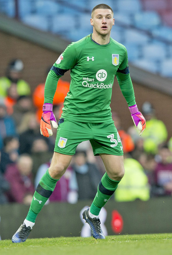 Image result for sam johnstone aston villa