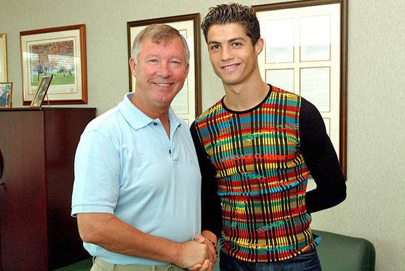 Sir Alex Ferguson Cristiano Ronaldo Manchester United