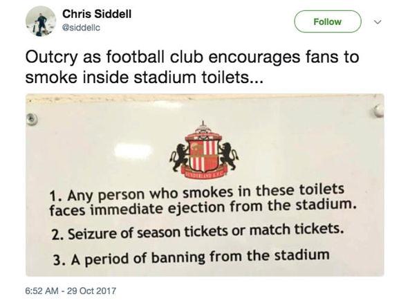 Sunderland: Hilarious tweet highlights just how BAD Black Cats' season has been
