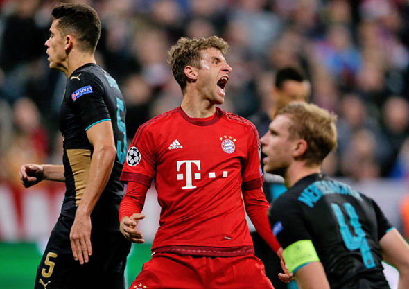 This will be the fourth time Arsenal have met Bayern Munich in five years