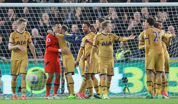 Tottenham have won their last five Premier League games