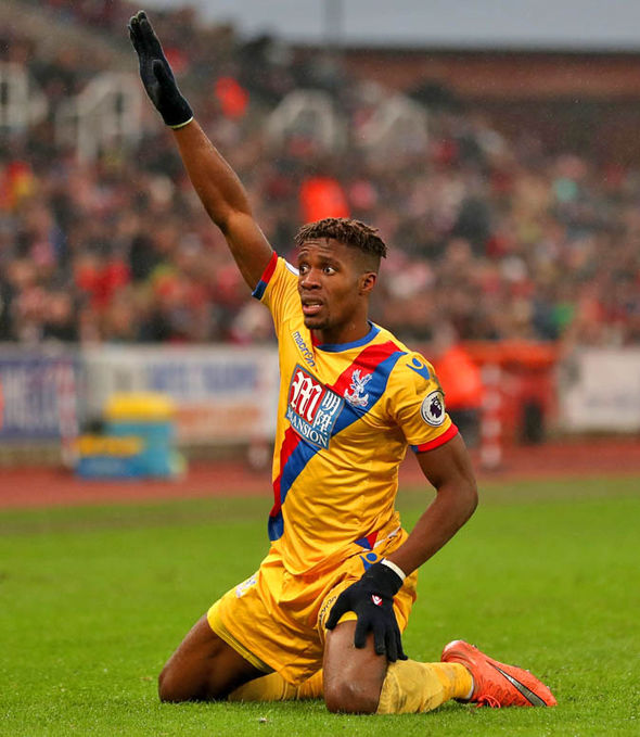 Wilfried Zaha at Palace