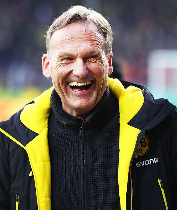 Borussia Dortmund CEO Hans-Jaochim Watzke