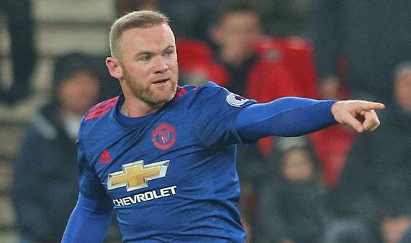 Wayne Rooney scores for Man Utd