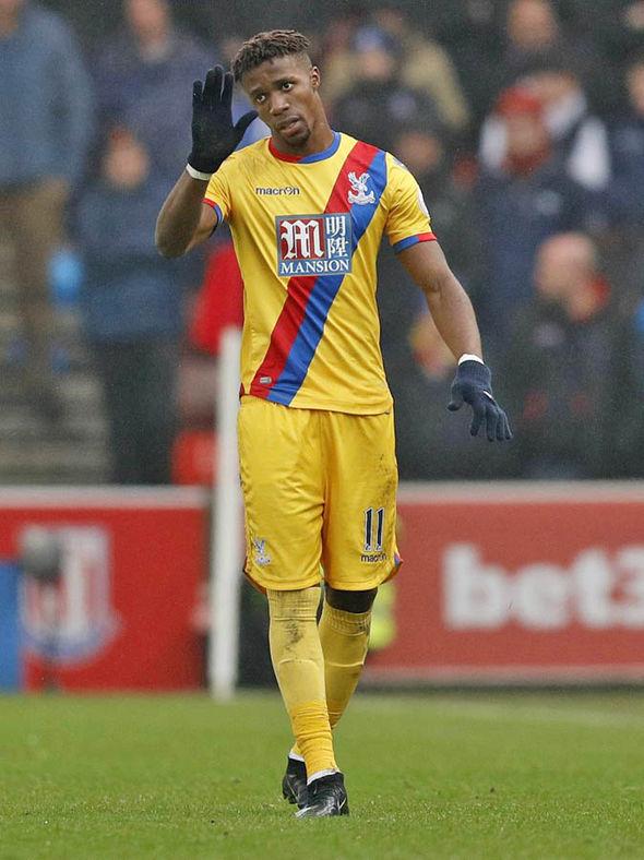 Wilfried Zaha Crystal Palace