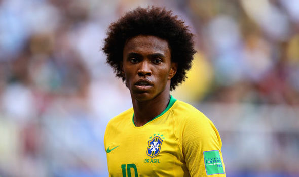 Man Utd transfer news: Barcelona have made a second bid for Chelsea's Willian
