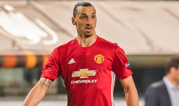 Zlatan Ibrahimovic at Man Utd