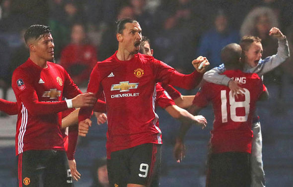 Zlatan Ibrahimovic came off the bench to score the winner for Manchester United