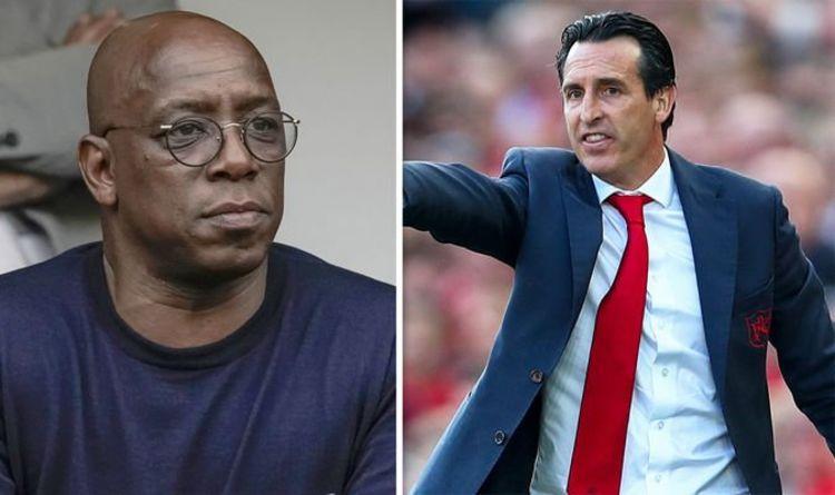 Ian Wright tells Arsenal boss Unai Emery to start four