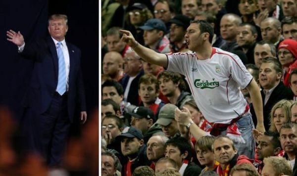 Liverpool fans rage at Donald Trump as World War 3 puts Premier League title at risk