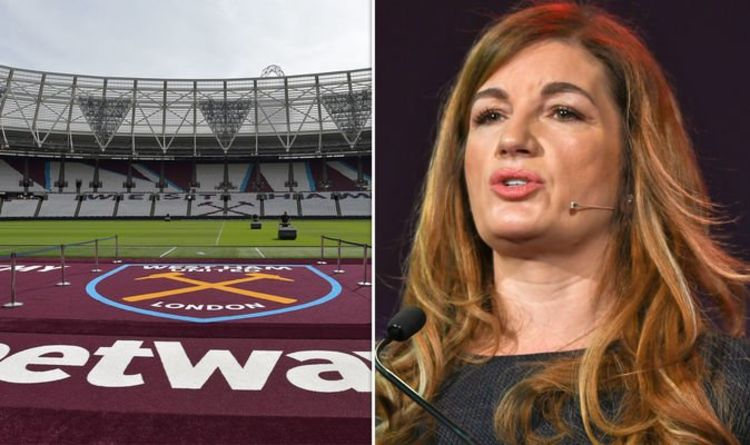 West Ham chief Karren Brady broke live TV coverage of Hammers' transfers and bankruptcies Football | Sport