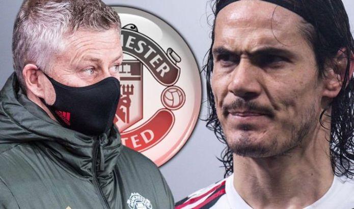 Edinson Cavani 'to quit' Man Utd as father takes dig at Ole Gunnar Solskjaer's side