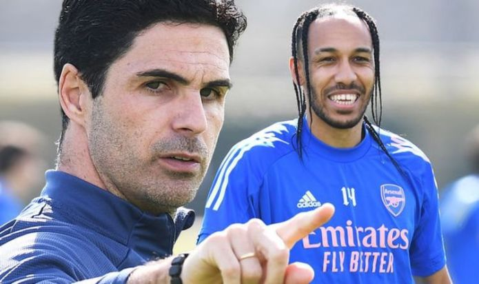 Arsenal boss Mikel Arteta weighs in on Pierre-Emerick Aubameyang conspiracy theory