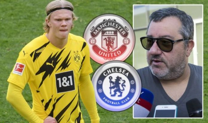Man Utd and Chelsea face £289m payout to sign Erling Haaland as Mino Raiola demands emerge