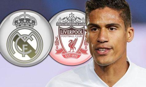Real Madrid star Raphael Varane tests positive for coronavirus ahead of Liverpool clash