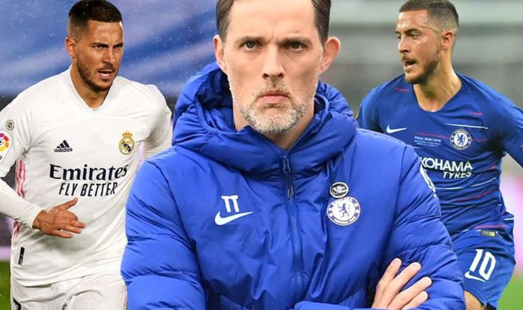 Thomas Tuchel warns Chelsea players over Eden Hazard - 'He wants to make a point'