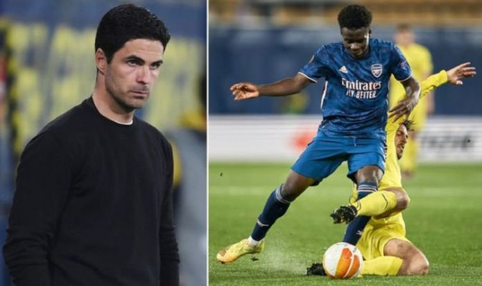 Mikel Arteta makes Bukayo Saka demand of Arsenal stars but hopeful of Villarreal comeback