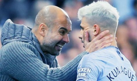 Pep Guardiola backing 'lion' Sergio Aguero to claim one more victim before Man City exit