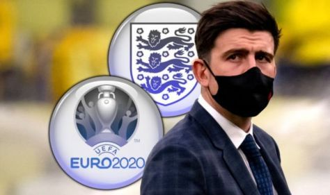 England staff have Harry Maguire injury fear as Man Utd man sweats on spot in Euros squad