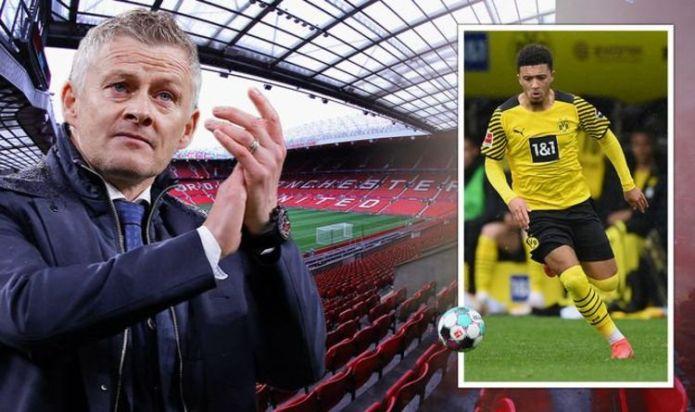 Man Utd make breakthrough in Jadon Sancho talks with '£80m transfer almost agreed'