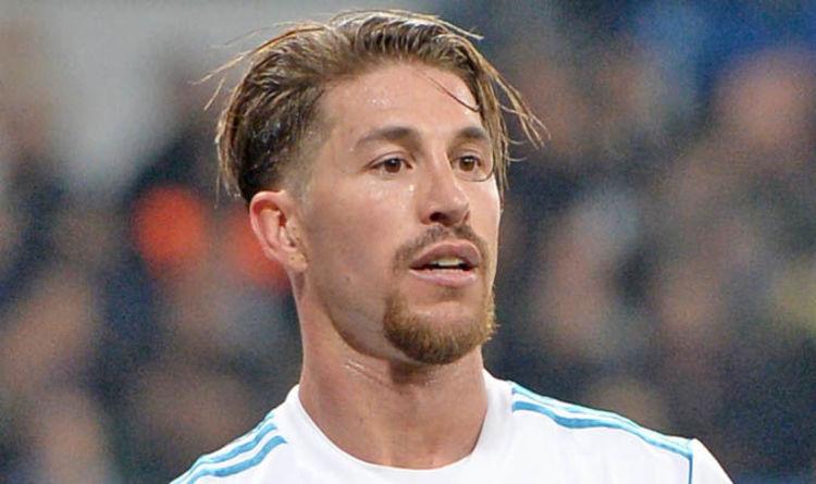 Real Madrid News Sergio Ramos Helps Make Harry Kane And