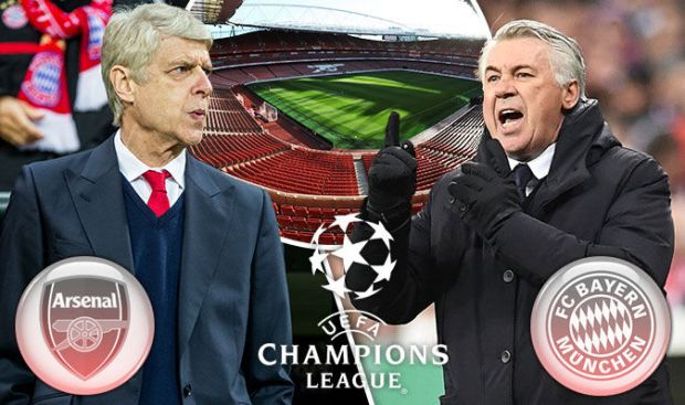 Arsenal-Bayern Munich live