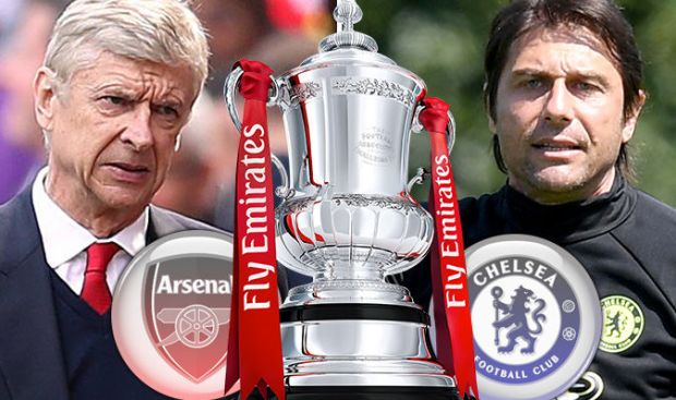 FA Cup Final LIVE Arsenal v Chelsea