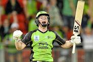 Eoin Morgan helps Sydney Thunder to Big Bash win England return Cricket News Gossip
