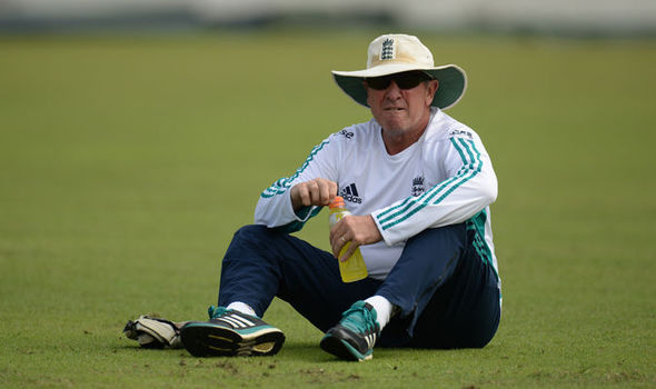 England cricket coach Trevor Bayliss