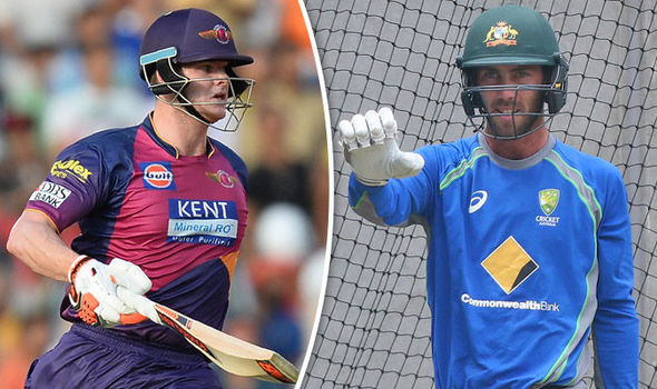 IPL stars Steve Smith and Glenn Maxwell