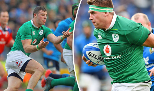 CJ Stander scored a hat-trick for Ireland against Italy