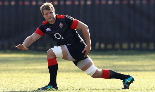 England Rugby: Joe Launchbury