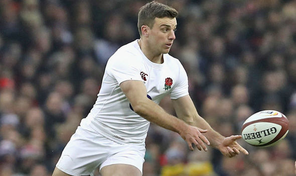 George Ford rugby player
