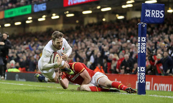 Wales v England rugby match report