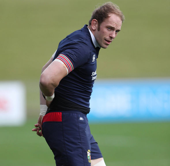 British & Irish Lion Alun Wyn Jones