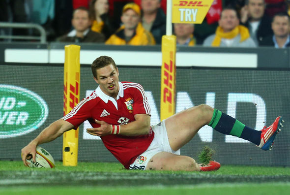 British & Irish Lion George North
