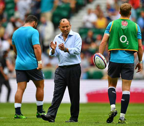 Eddie Jones has been forced to make major changes to his England squad