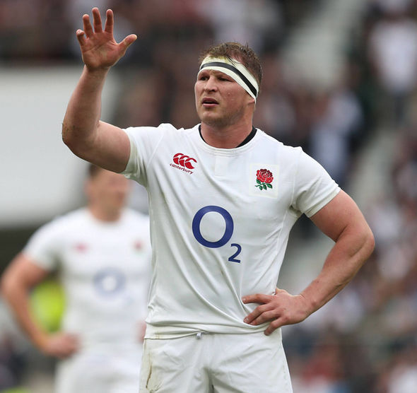 England captain Dylan Hartley