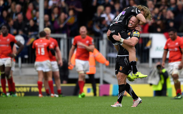 Exeter Chiefs shoot for a first Premiership title against Wasps
