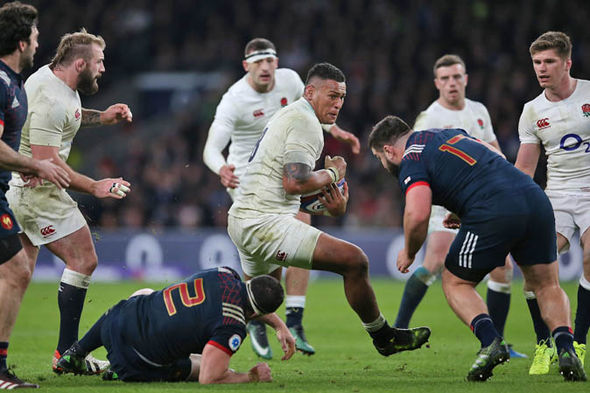 France led for much of the second half until Ben Te'o put England ahead late on