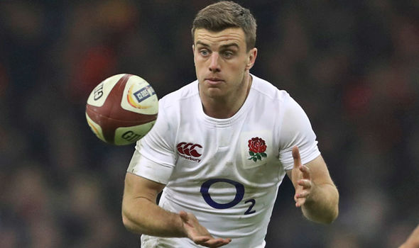 George Ford England rugby player