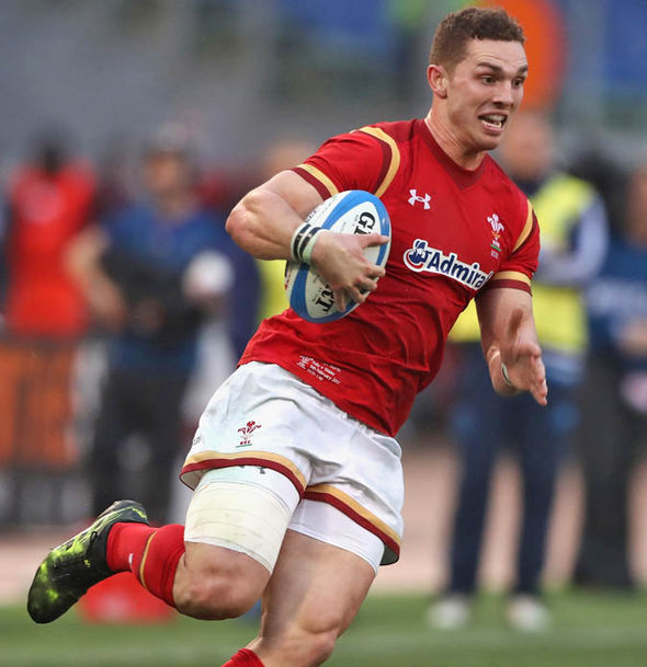 George North will face a late fitness test before facing England