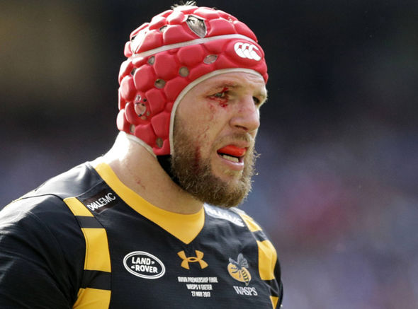 Wasps player James Haskell